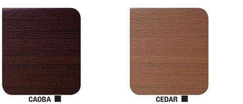 Flexographic Timber Look Garage Door