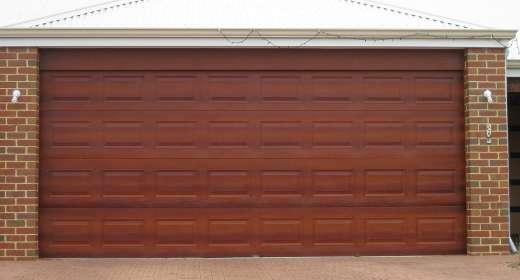Daintree Garage Door Timber Look Door Jarrah Cedar